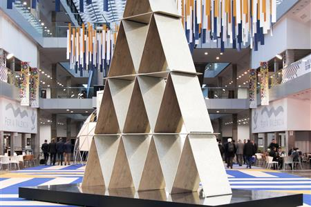 STAND HOUSE OF CARDS FOR CEVISAMA 2019