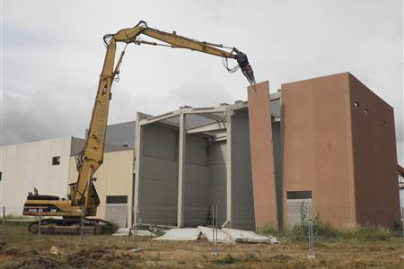 PROJECT FOR THE DEMOLITION OF THE ENTABAN BUILDING IN THE BASF INDUSTRIAL ESTATE IN LA CANONJA (TARRAGONA)