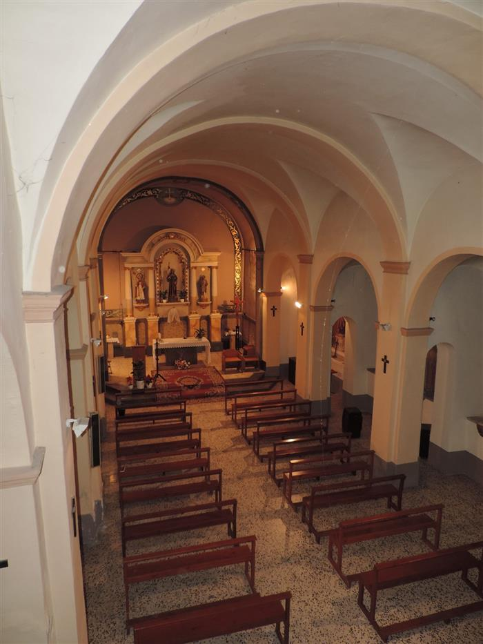 Analysis of the pathologies present in the church of Els Garidells