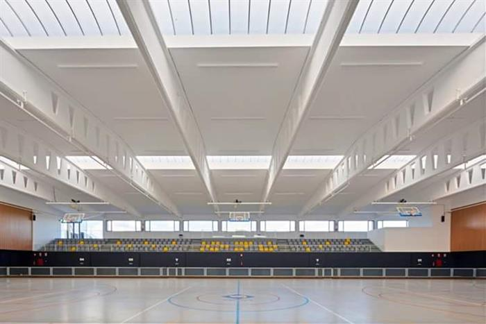 Extension of the municipal sports center of Vila-Seca for the Mediterranean Games, Tarragona 2018